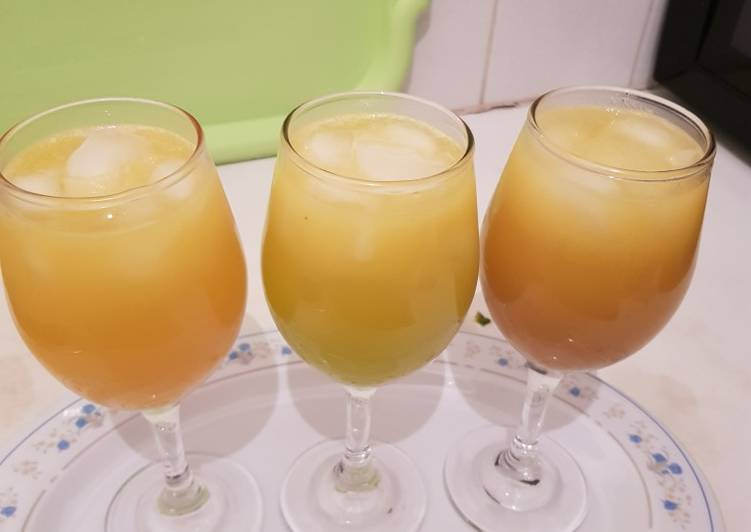 Recipe of Perfect Pineapple and Apple juice