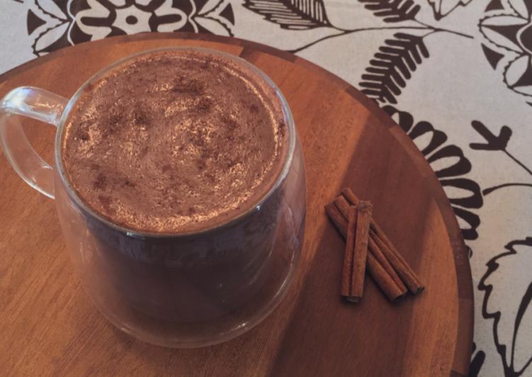 Easiest Way to Make Favorite Cinnamon & Clove Hot Chocolate
