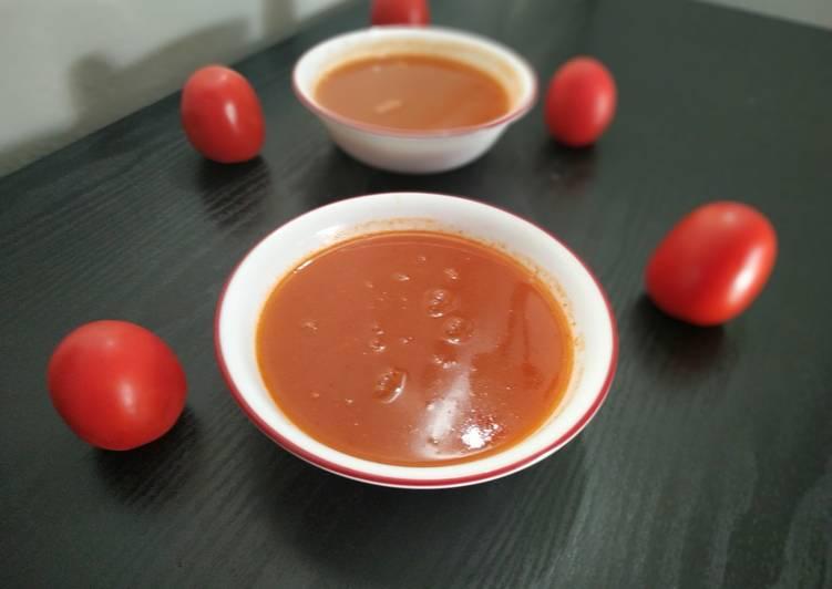 Steps to Prepare Perfect Tomato soup