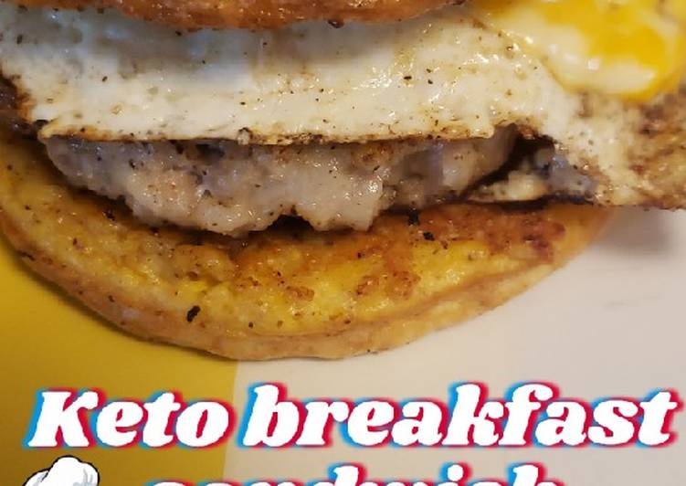 Recipe: Yummy Keto Breakfast Sandwich