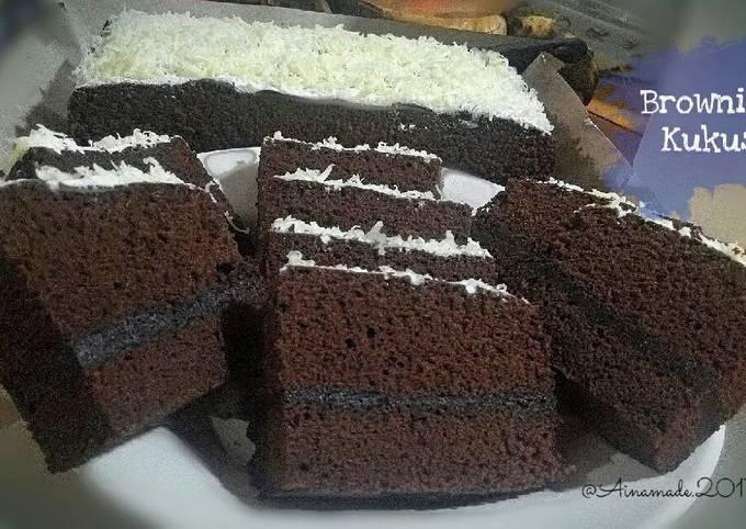Resep Brownies Kukus Ny Liem Oleh Airin Ummu Aina Cookpad