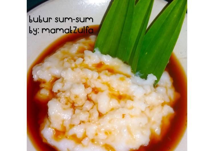 Bubur Sum-Sum (a.k.a Jenang Baning)
