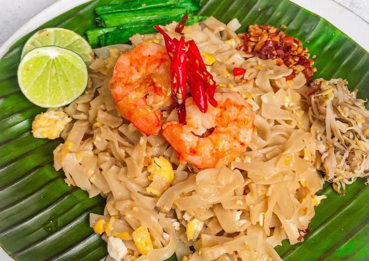 Cara Membuat Pad Thai (Mie Thailand) 100% Bahan Lokal!,…