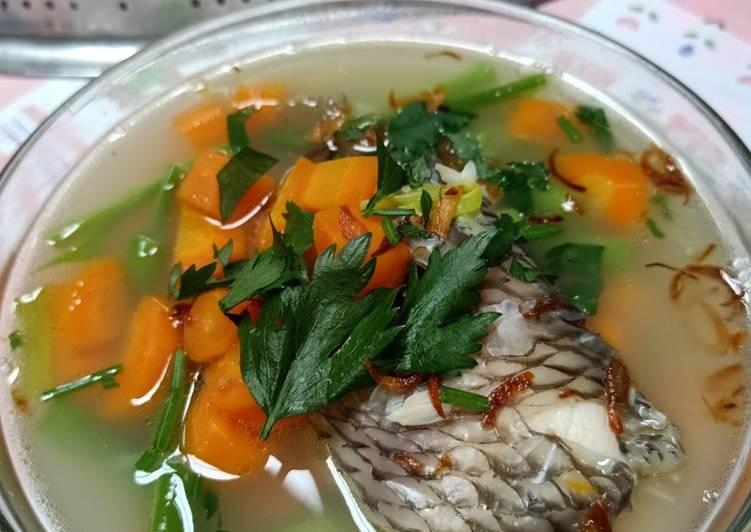 Resep Sop Ikan Nila Anti Gagal