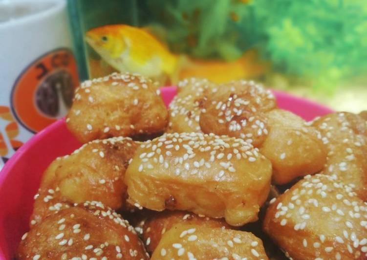 Roti bolang-baling / roti goreng