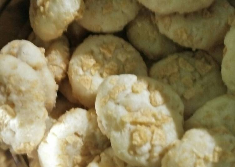 Resep Cornflakes cookie wysman yang Lezat Sekali