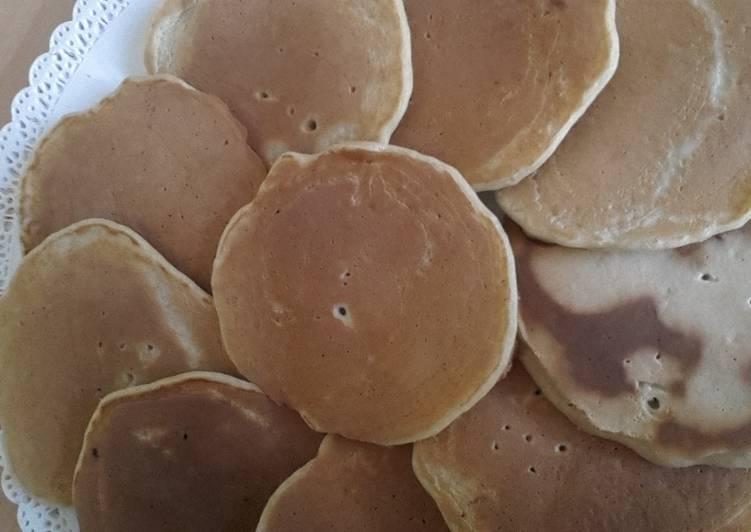 Recette Délicieux Pancakes à la banane sans sucre