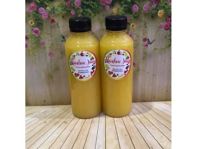 Diet Juice Mango Apple Jambu Kristal Orange