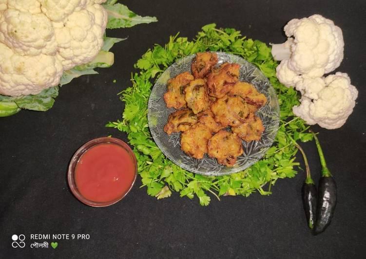 Recipe of Perfect Cauliflower Pakora