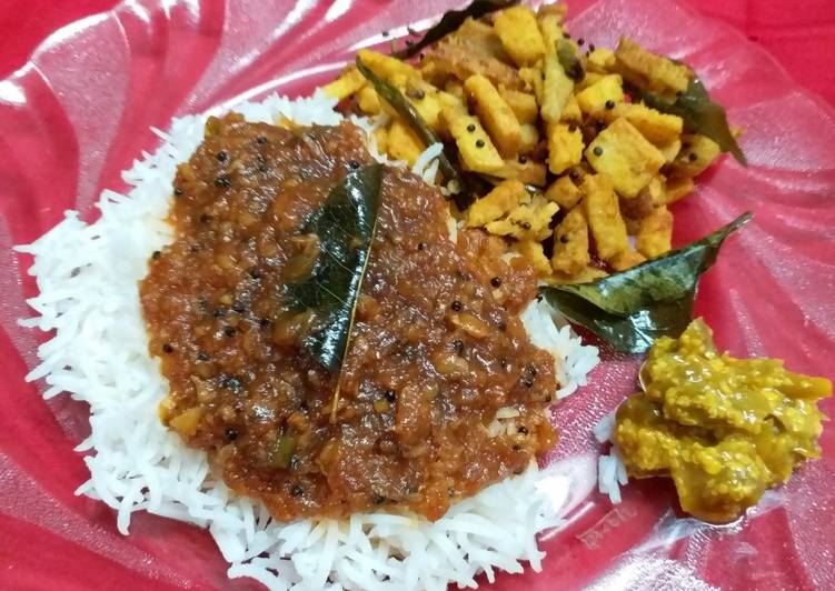 Kerala Style Spicy & Tangy Inji Curry Choosing Fast Food That's Fine For You
