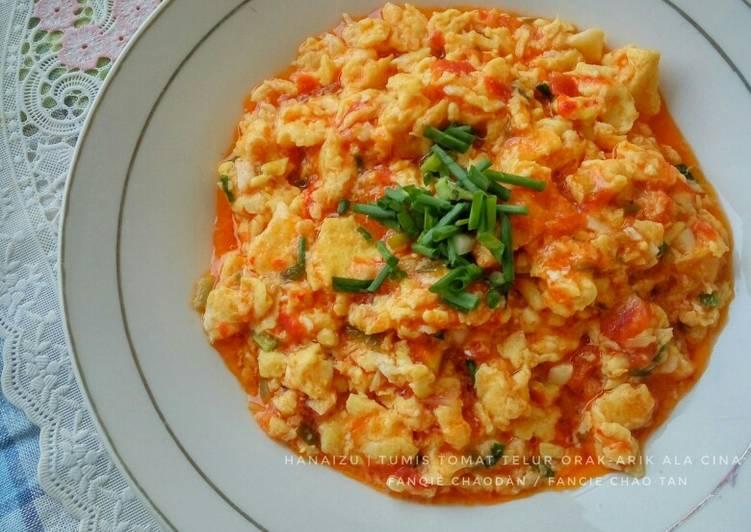 Resep Tumis Tomat Telur Ala Cina Fancie Chao Tan Xihongshi Chao