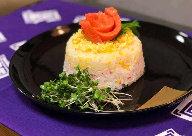 Recipe: Appetizing Japanese Sushi Cake