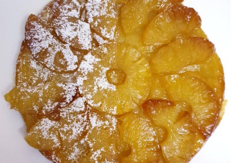 How to Make 2020 Pineapple tarte tatin