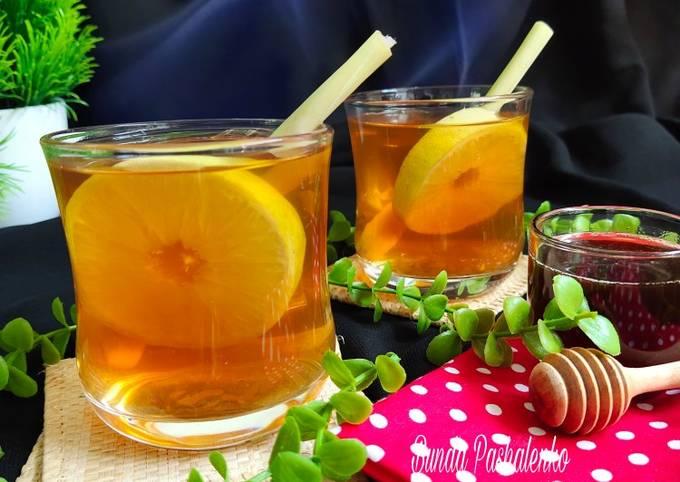 Lemon grass Tea (Teh Serai)