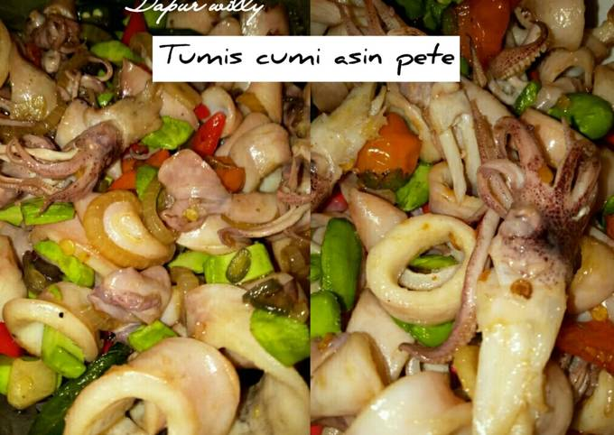 Tumis cumi asin pete - projectfootsteps.org