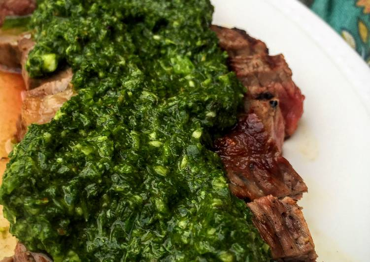 Michael's Chimichurri Recipe