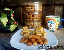 Cookies Wafer, Cookies Coklat Koin, Cookies Palm Sugar Clasic (1 Resep Jadi 3variasi)