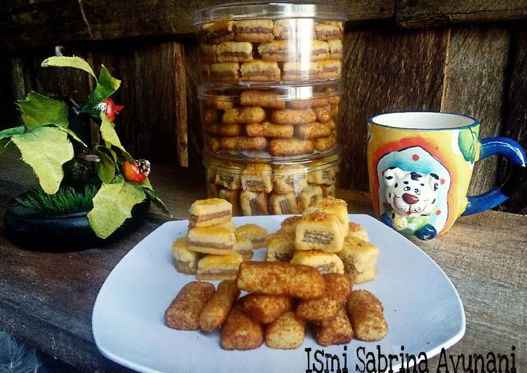 Cookies Wafer, Cookies Coklat Koin, Cookies Palm Sugar Clasic (1 Resep Jadi 3variasi)