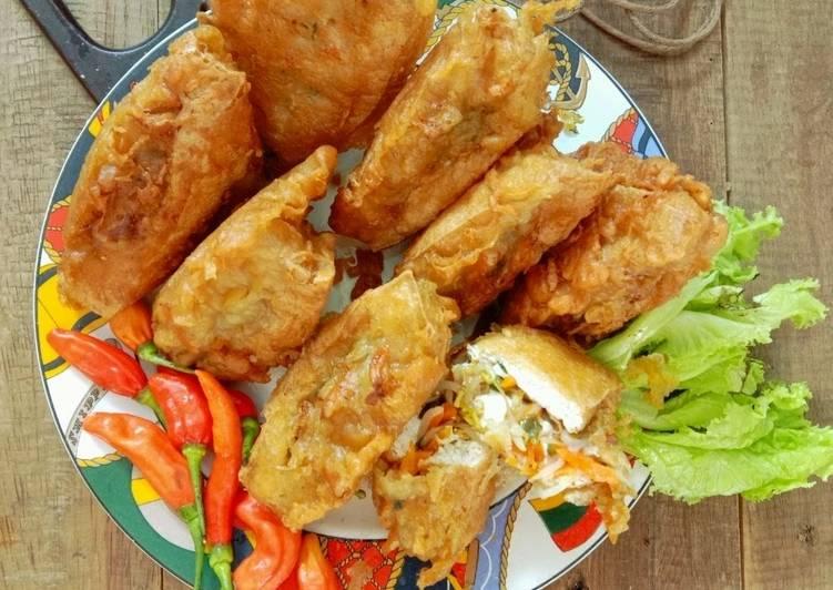 11 Bahan Memasak Tahu Isi Sayur A K A Tahu Berontak Yang Mudah Cookandrecipe Com