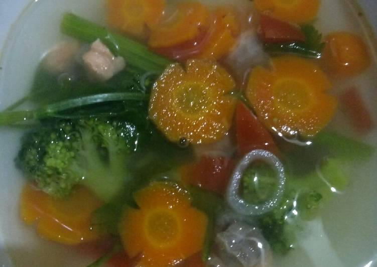 Sup Salmon Untuk Anak Diatas 1 Tahun