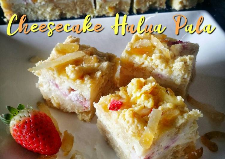Cheesecake Halua Pala