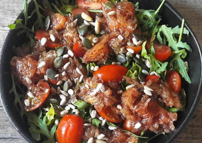 Salade de pamplemousse mariné [VEGAN]