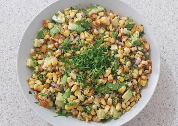 Step-by-Step Guide to Prepare Favorite Corn & Avocado Salad (VG, VEG)