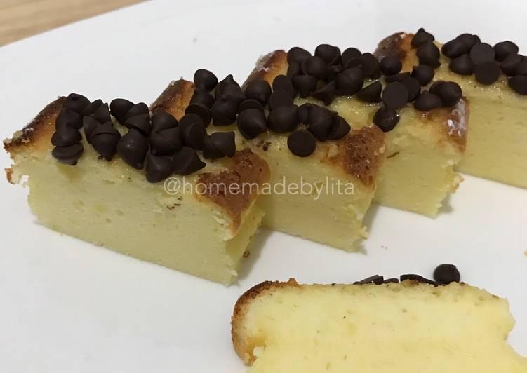 Japanese cheesecake #homemadebylita