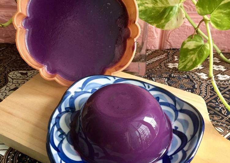 Pudding Taro Lembut