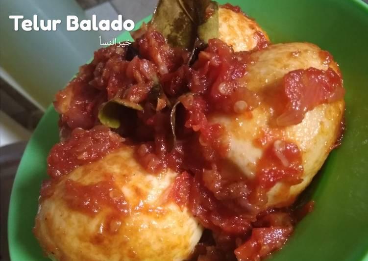 57. Telur Balado 🥚🥚 (Bumbu simpel direbus diulek)