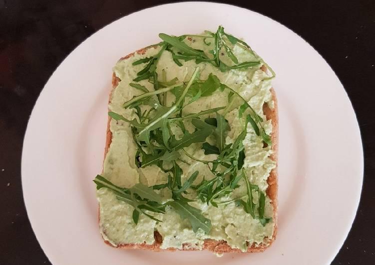 My Philly Avocado Toast. 😁