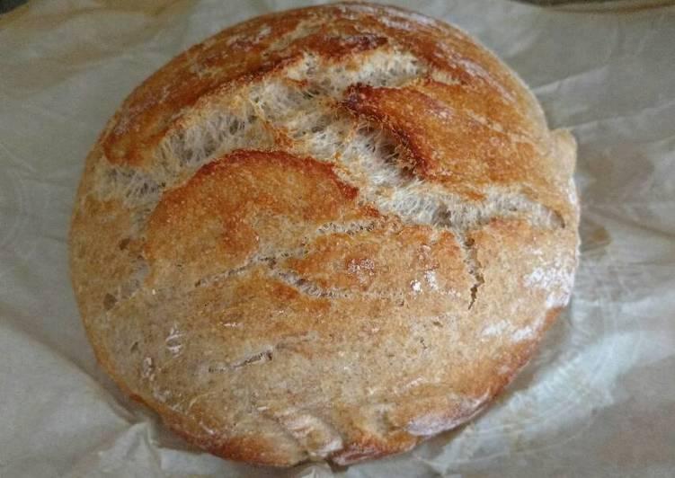 Simple sour dough bread