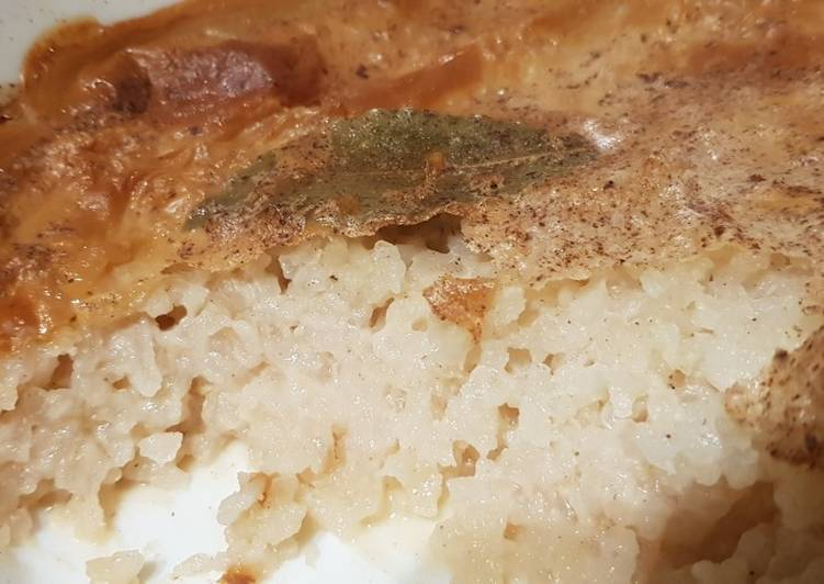 Steps to Prepare Award-winning Vegan rice pudding