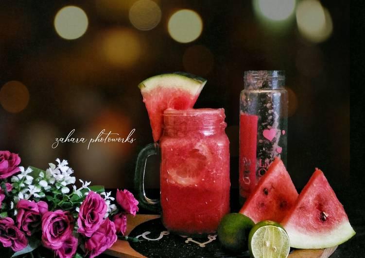 Watermelon Juice (Jus Semangka Diet)