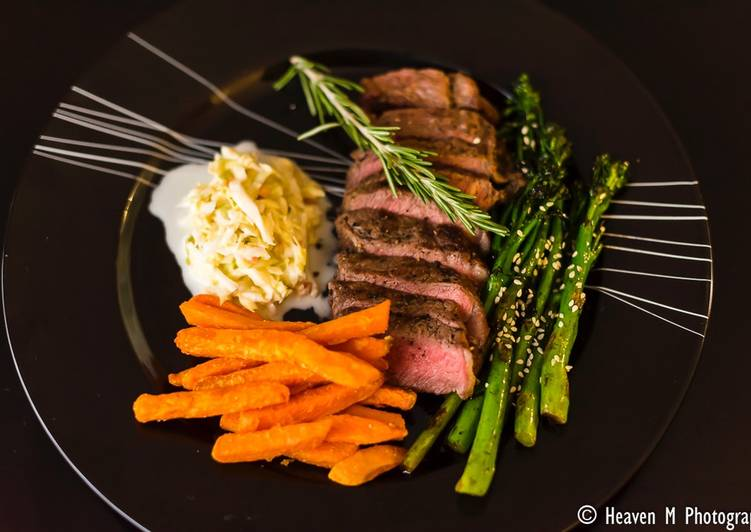 Steps to Prepare Favorite Steak and Chips