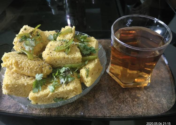 Simple Way to Make Quick Khaman with Apple juice homemade recipe both