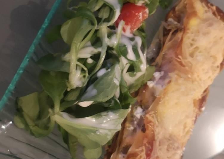 Comment faire Faire Parfait Mille feuilles Saumon/ Ricotta et champignons 🍄