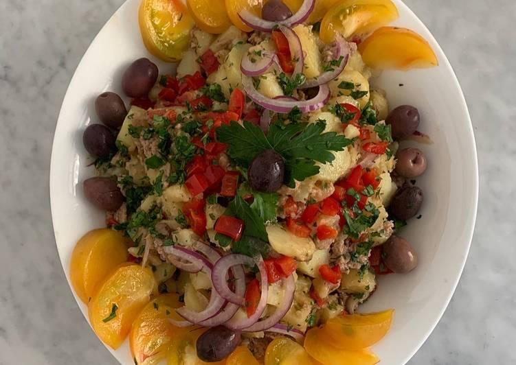 Recette Des Salade de pommes de terre à la portugaise