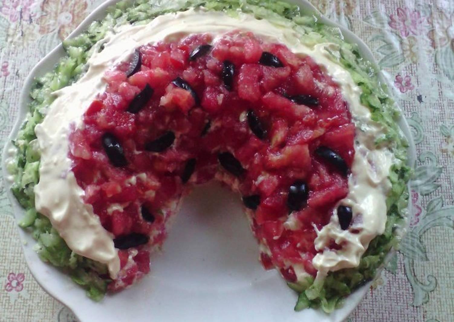 даже салат арбузная долька с виноградом рецепт фото обиходе жители