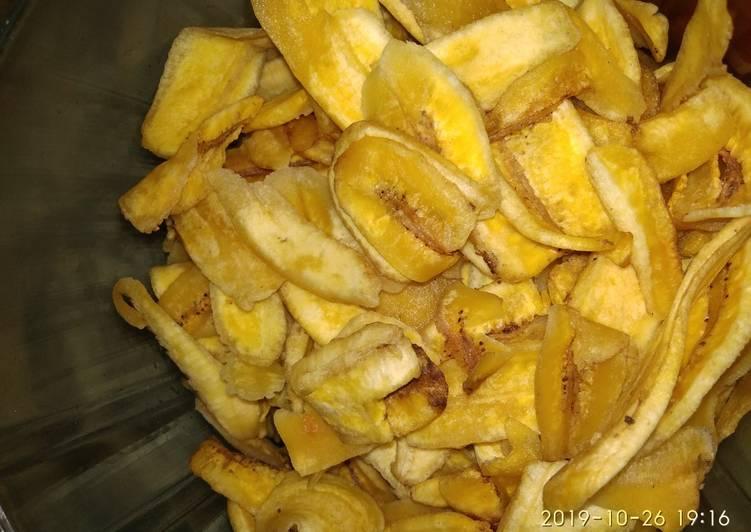 Keripik pisang (Gurih)