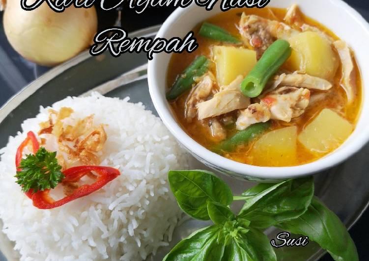 Kari Ayam Nasi Rempah
