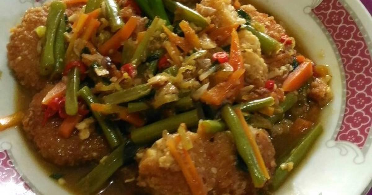 Resep Nugget Tempe Saos Tiram Mix Sayuran Oleh Julia Juliana Cookpad