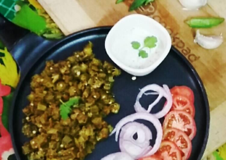Achari Tawa bhindi