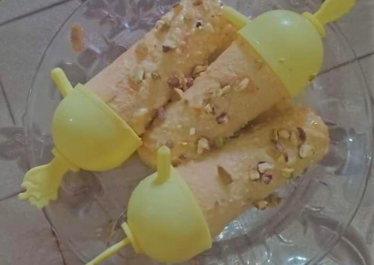 Mango Rabri Kulfi Recipe🍦