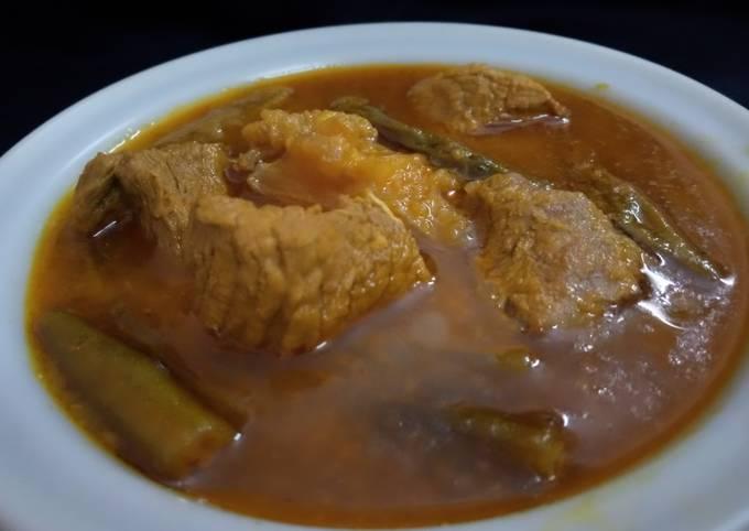 Recipe of Homemade Bhindi Gosht