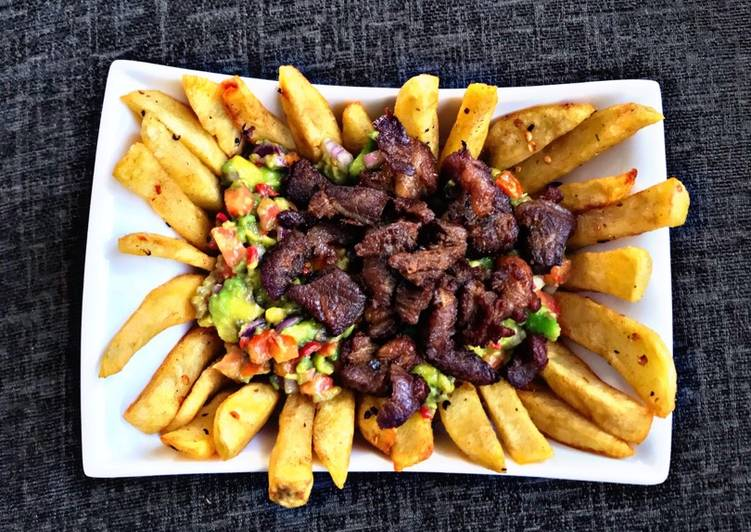 How to Make Yummy Carnes Asada Fries