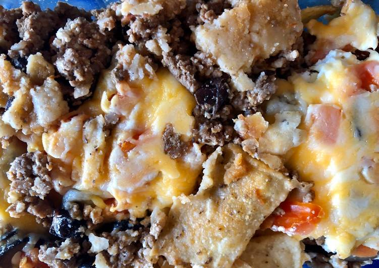 Steps to Make Ultimate Nacho casserole