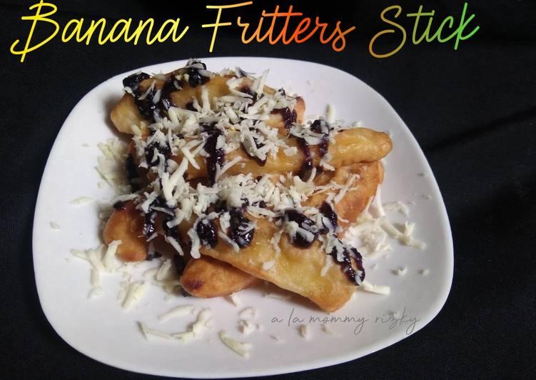 Banana Fritters Stick