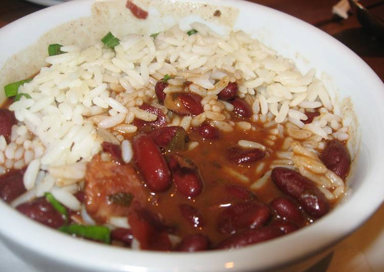 Easiest Way to Cook Appetizing Vegetarian(ish) Red Beans and Rice