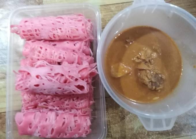 Gulai Ayam & Roti jala